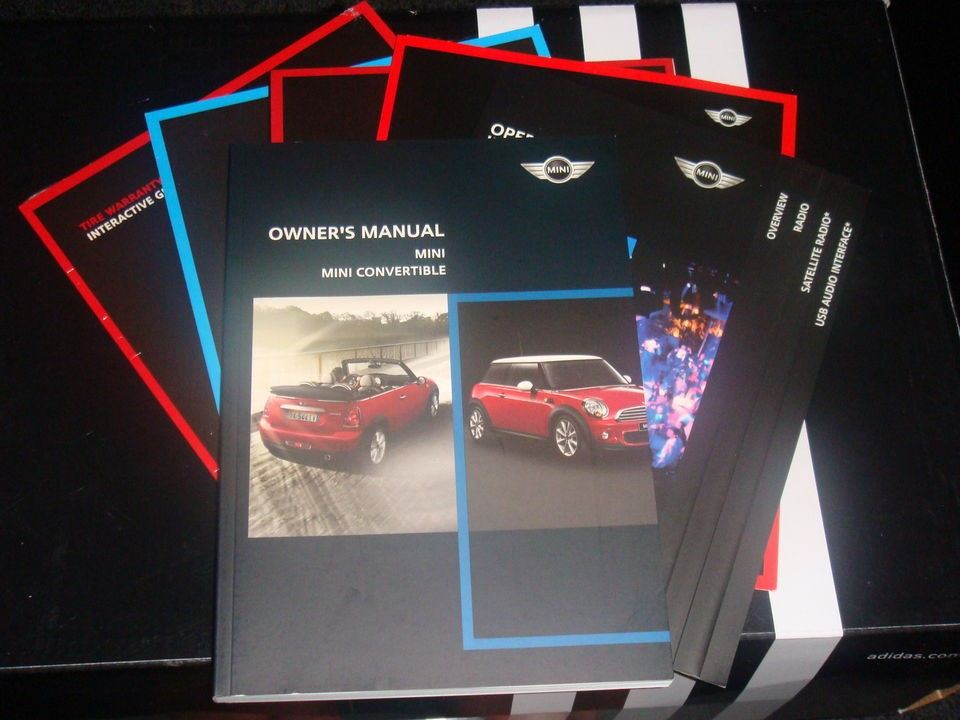 2011 Mini John Cooper S Works Convertible Owners Manual