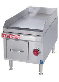 Cecilware 18x12 HEAVY Duty USA made Commercial Electric Griddle BUILT