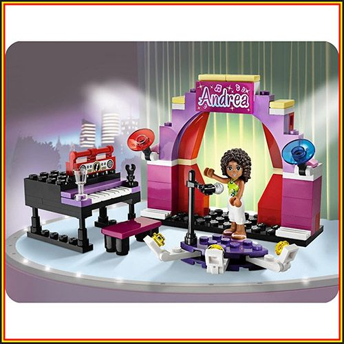 LEGO FRIENDS 3932 Andrea's Stage Sets Andrea mini doll figures
