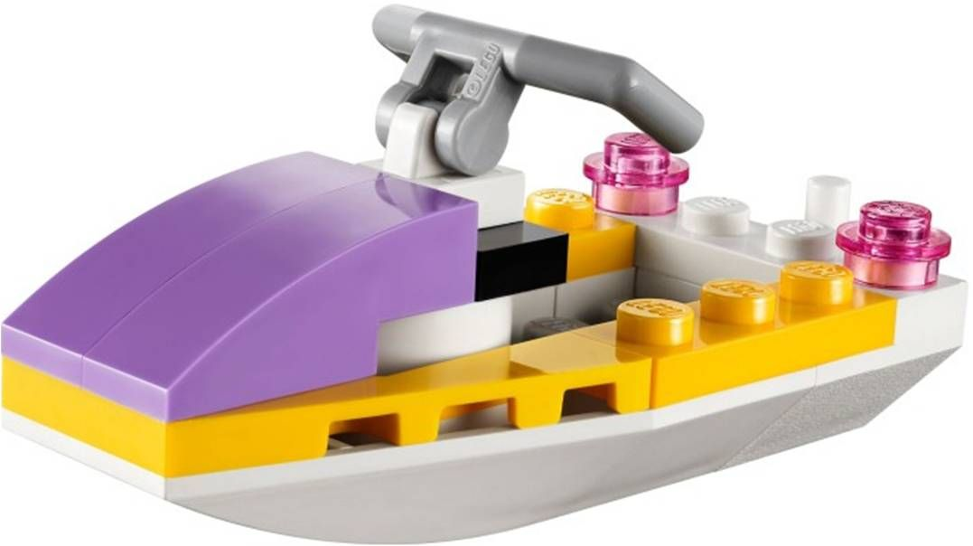 complete set of Lego Friends 41000 Water Scooter fun NEW IN BOX