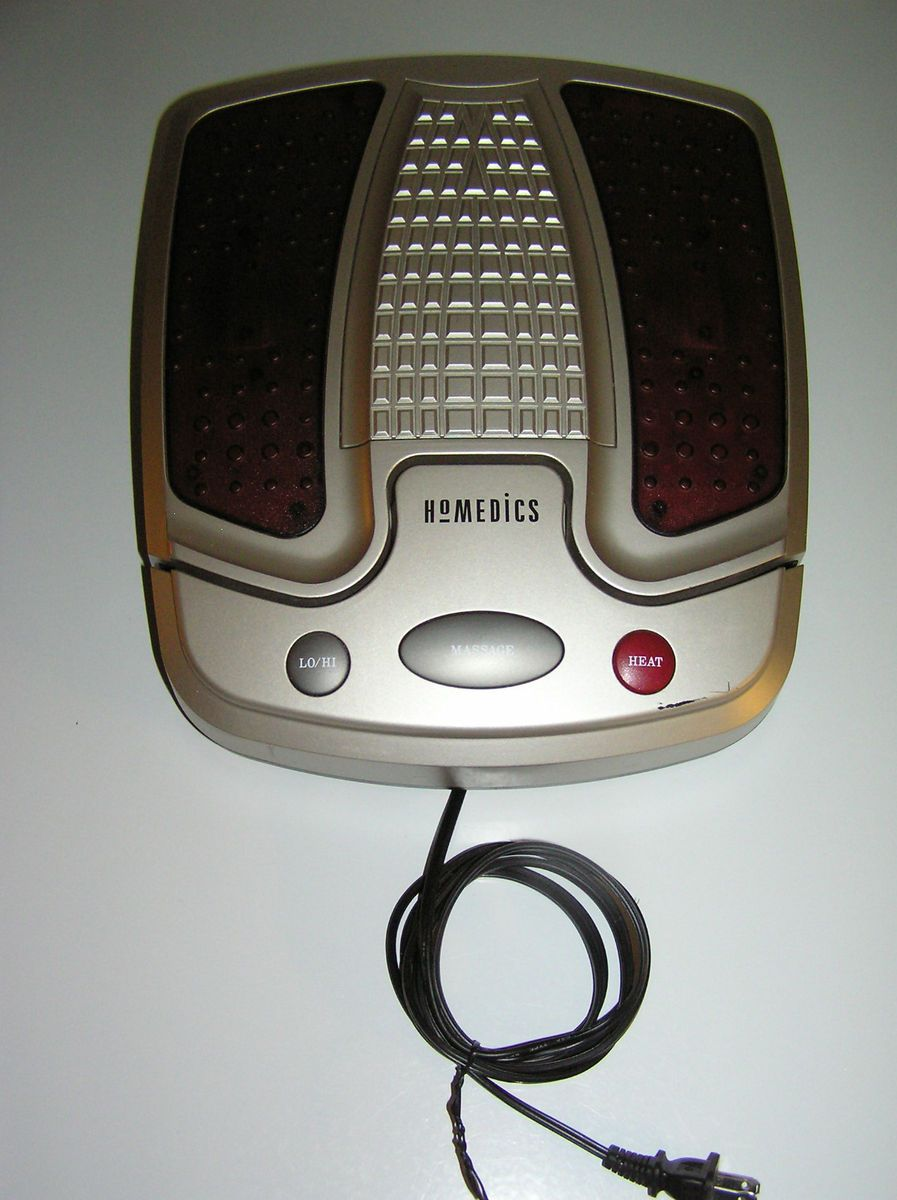 Homedics Electric Vibrating Heated Foot Massager