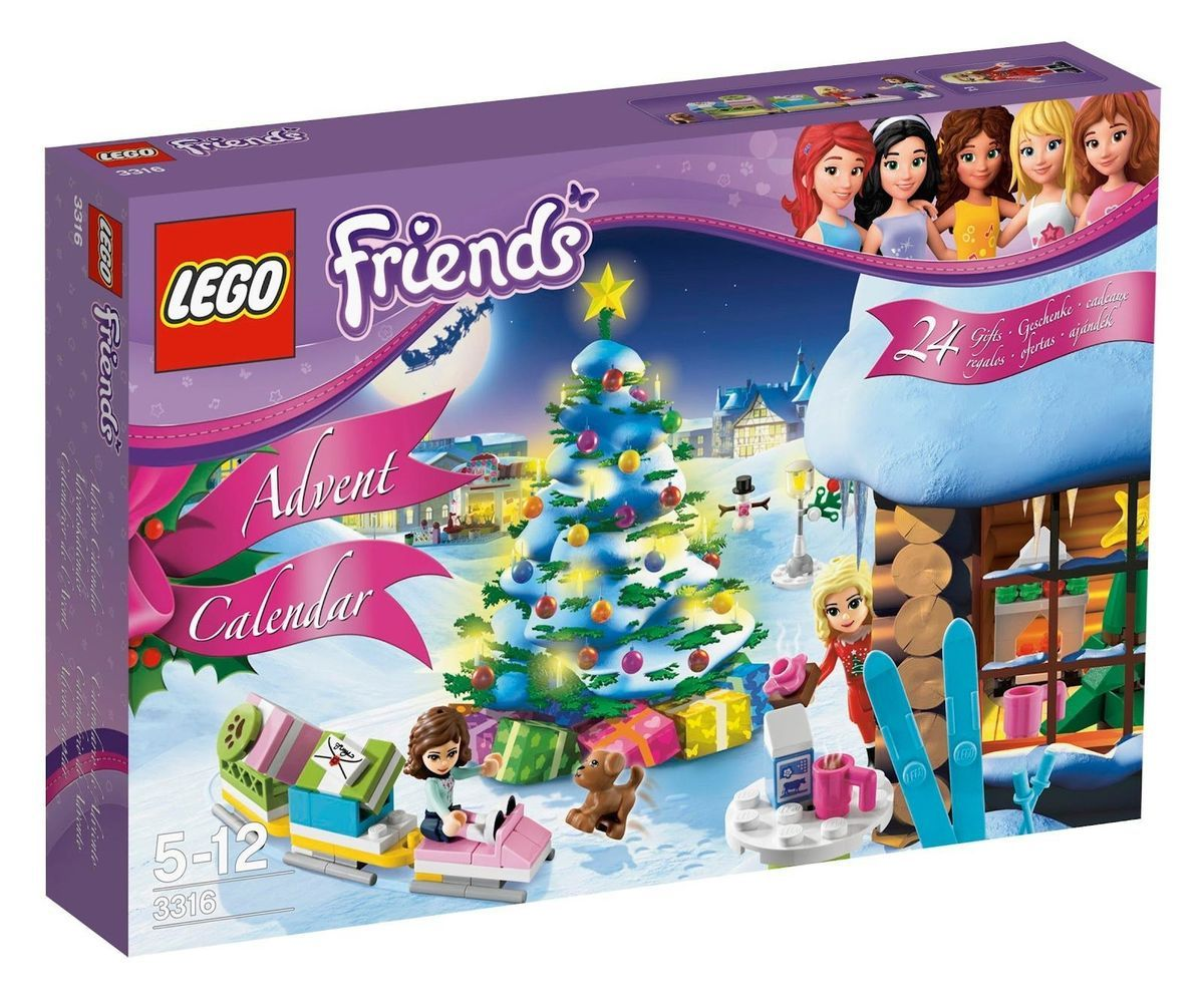 Lego Friends Advent Calendar 3316 Holiday Fast SHIP