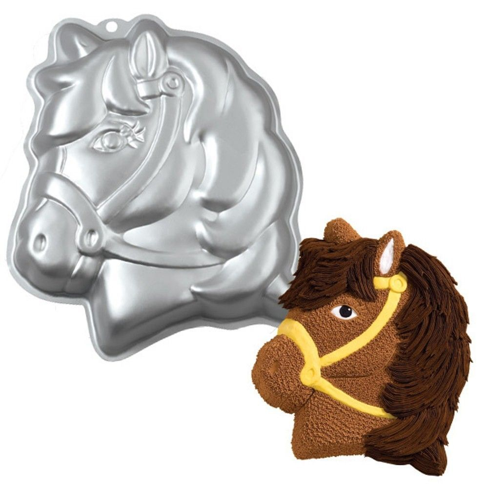 Wilton Party princess Pony birthday cake pan #2105 1011