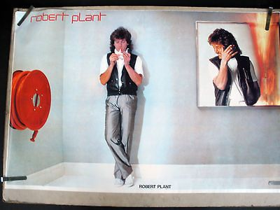 ROBERT PLANT LED ZEPPELIN PICTURES AT ELEVEN 1985 VINTAGE STORE