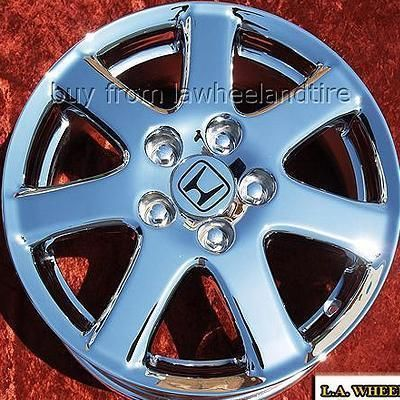Set of 4 New 16 Honda Accord Chrome Wheels Rims Odyssey Prelude Civic