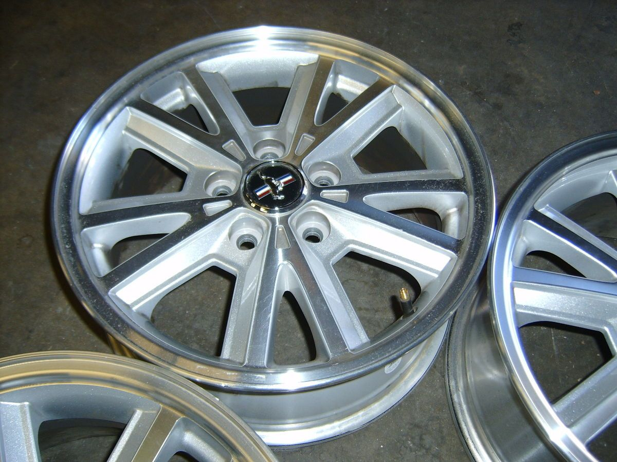 06 07 08 09 Ford Mustang 16 alloy wheels rims 5x4 5 GT pony Ranger 500